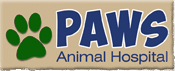 Paws Animal Hospital logo