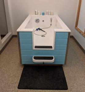 Paws wash tub